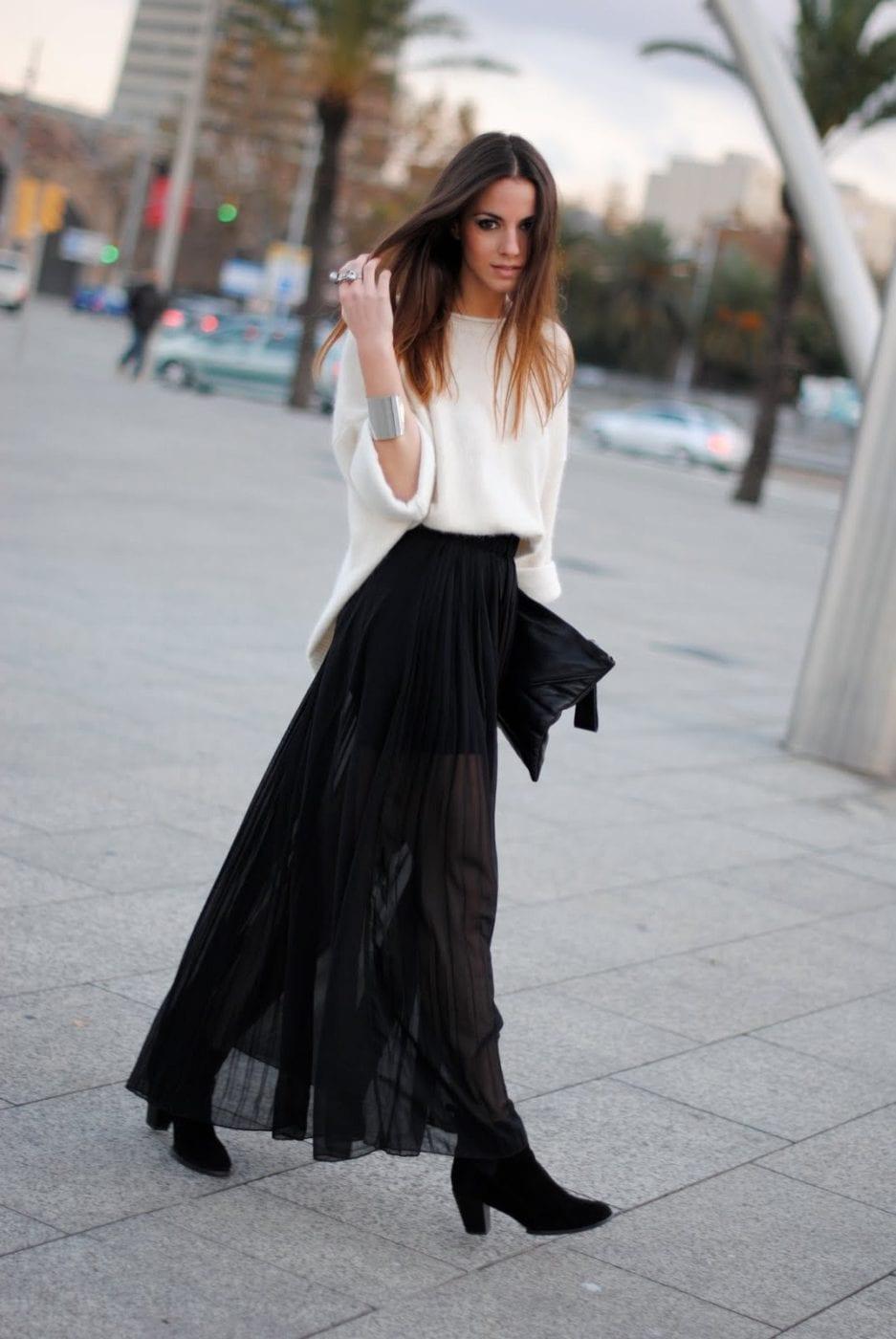 Простая юбки длинной летней