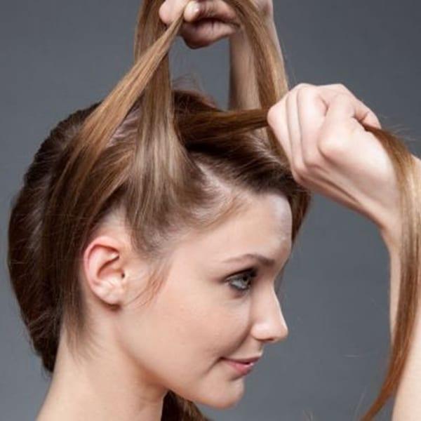 коса вокруг головы как плести фото
