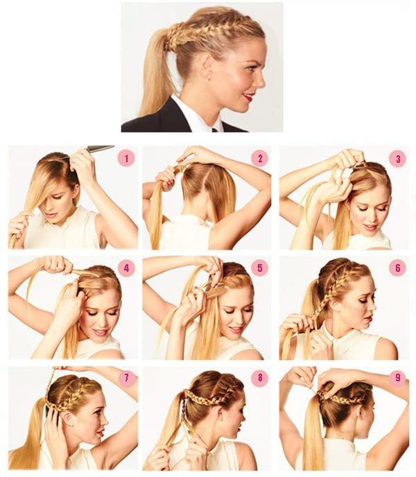 Прически на длинные волосы своими руками на каждый 53