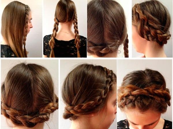 Как заплести косы самостоятельно