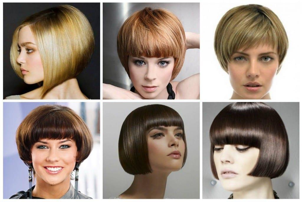 Прическа сессон для волос средней длины