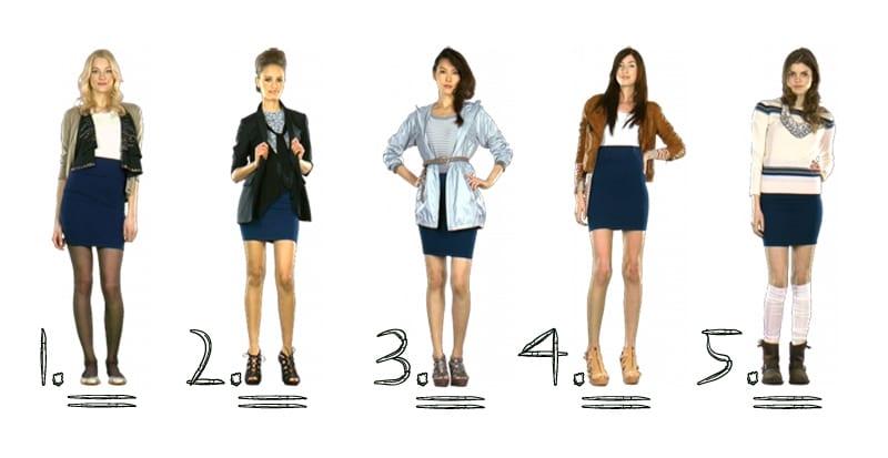 Пять модных образов