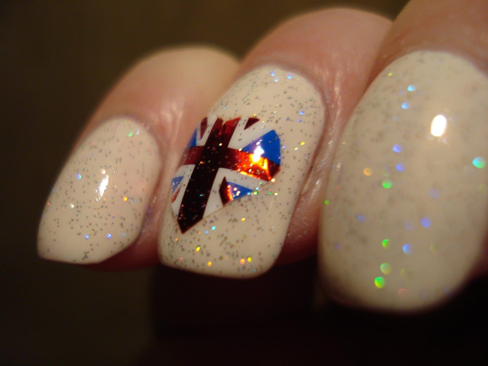 Ногти дизайн российский флаг фото