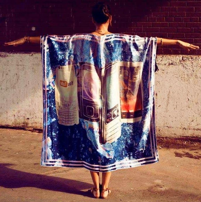 Пара платков - и платье готово