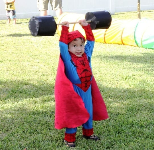Маленький супергерой