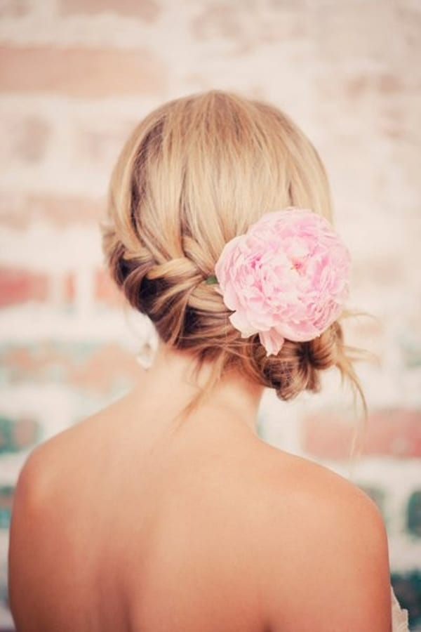 Заколки-цветы