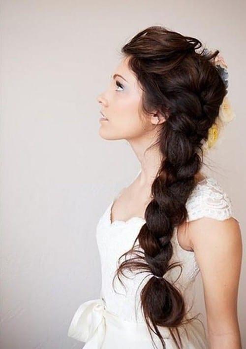 свадебные прически с косами на длинные волосы фото 2013