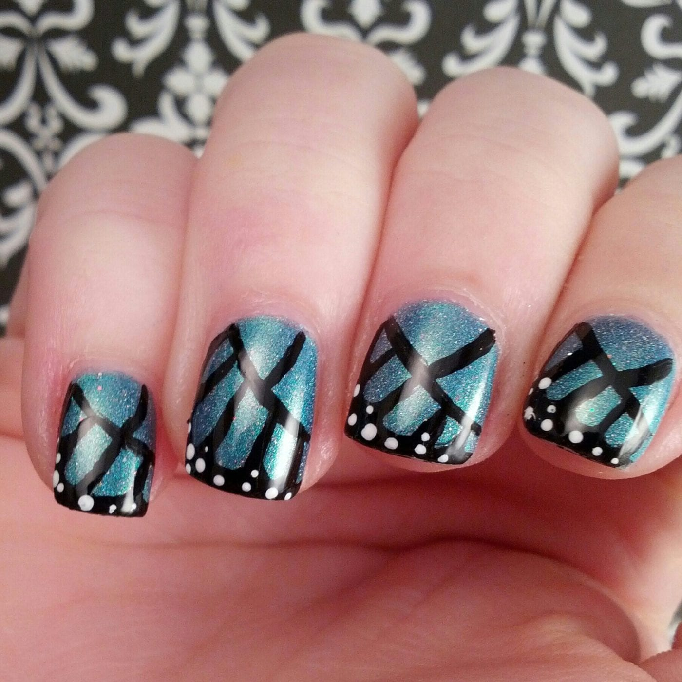 Мк бабочка на ногтях фото