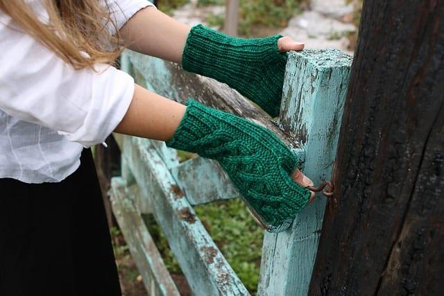 Удобные рукавицы