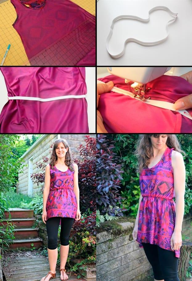 Приталенная летняя одежда