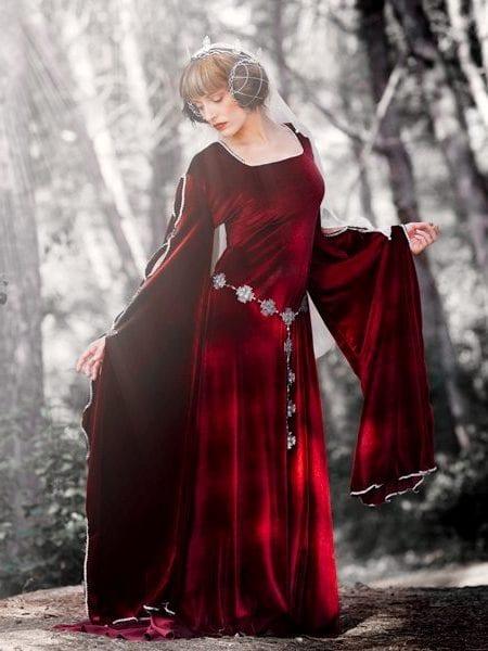 Фото в средневековых платьев