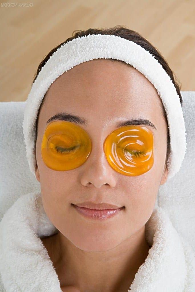 Как сделать маску с чего вокруг глаз