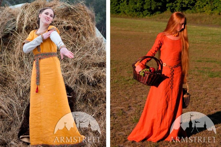 Юбки средневековья