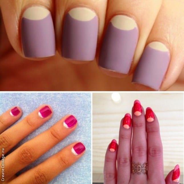 Яркие ногти на лето