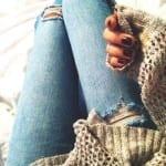 Как сделать рваные джинсы, Как сделать рваные джинсы своими руками