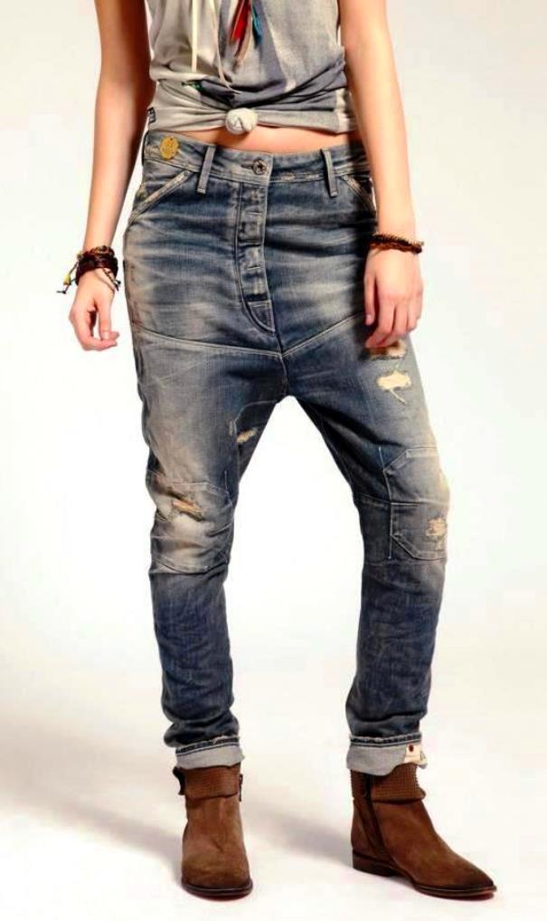 Молодежные джинсы