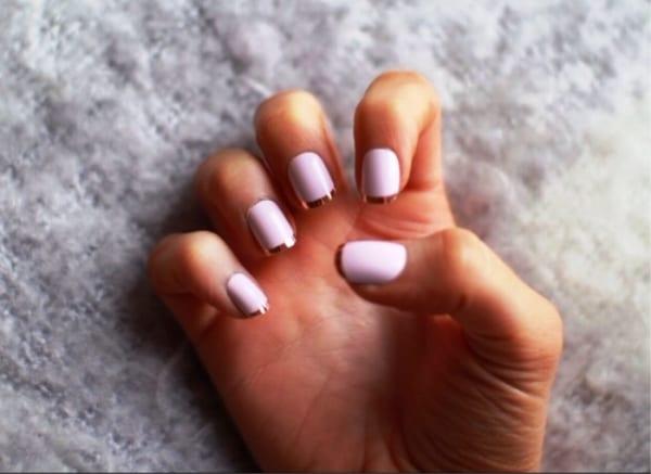 Пастельный лак для ногтей