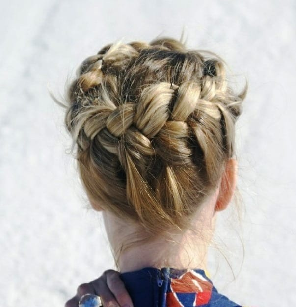 корзинка коса фото