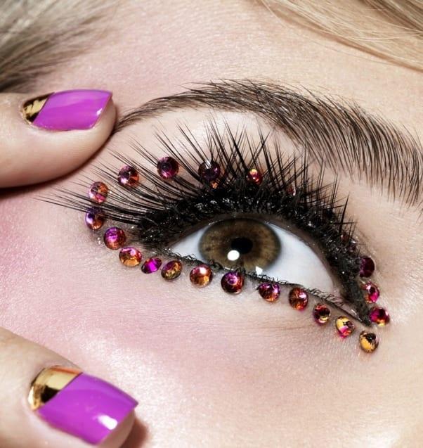 Красивые камешки на глазах