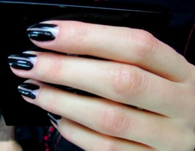 Лунки на ногтях маникюр фото