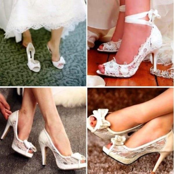 Свадебная обувь для невест