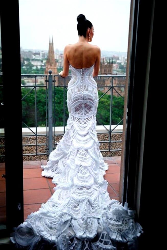 Нестандартные свадебных платьев фото