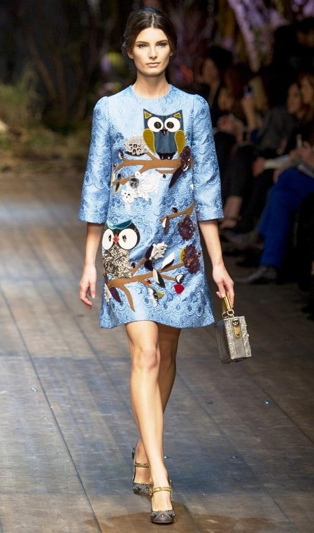Модное платье