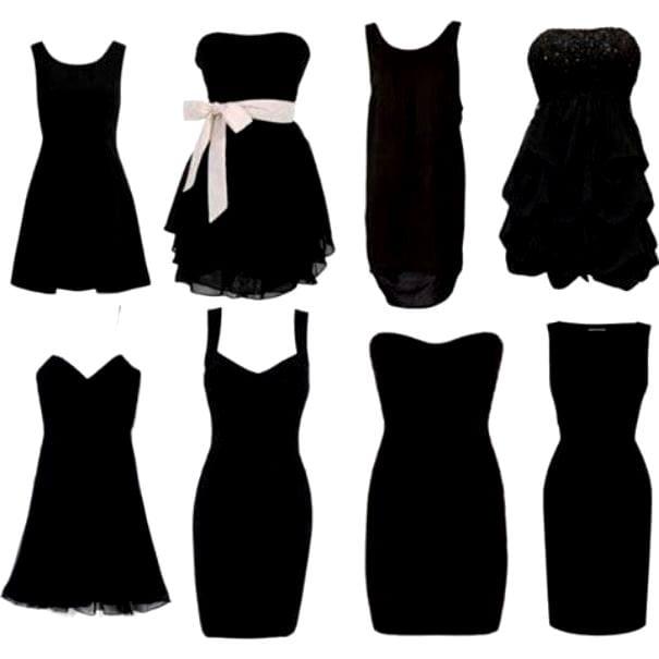 Бархатное платье черное короткое