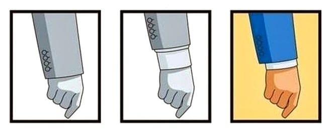 Правила носки костюма