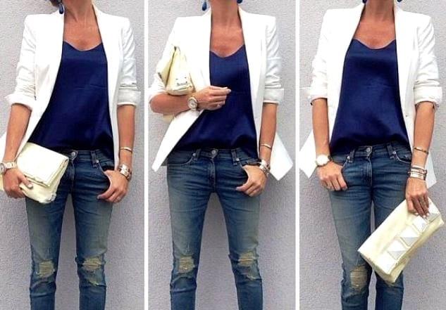 Летом носите белый