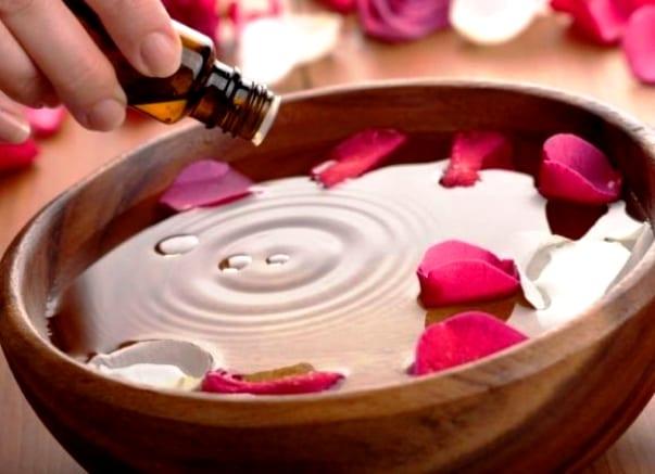 Ванночка с эфирным маслом