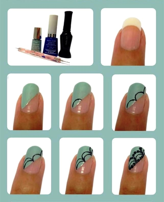 Дизайн ногтей чем рисуют