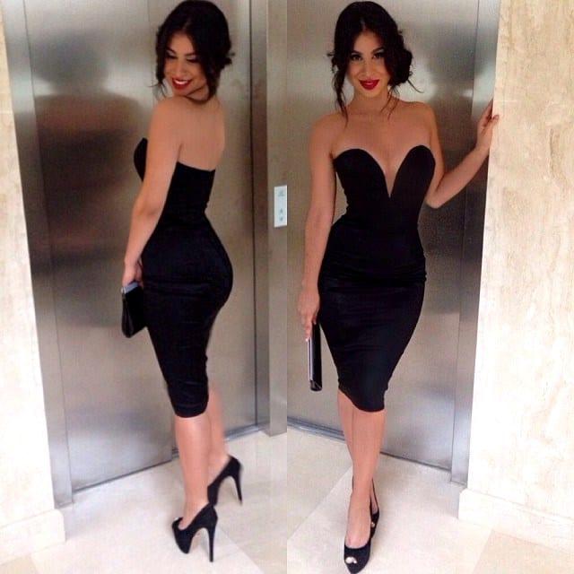 Кто открыл маленькое черное платье