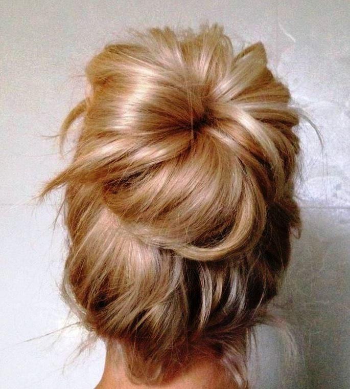 Вариации на тему — шишка из волос