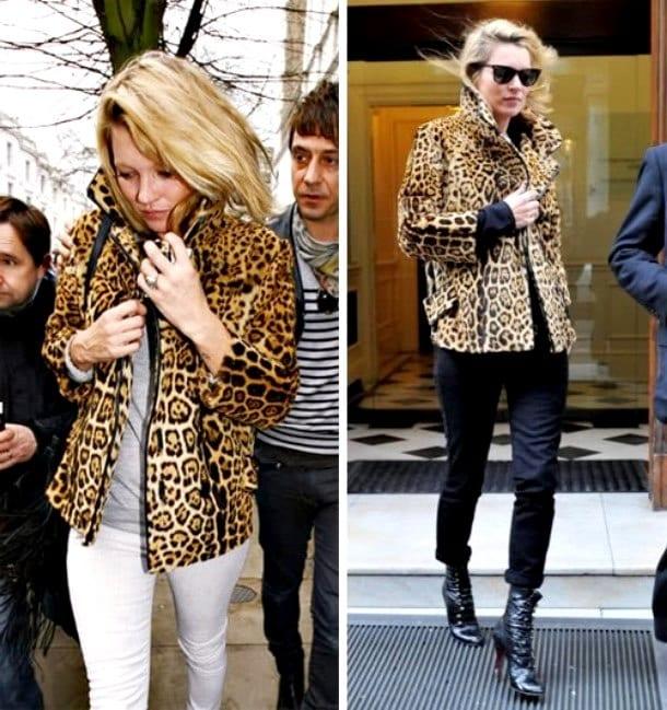 Леопардовая куртка