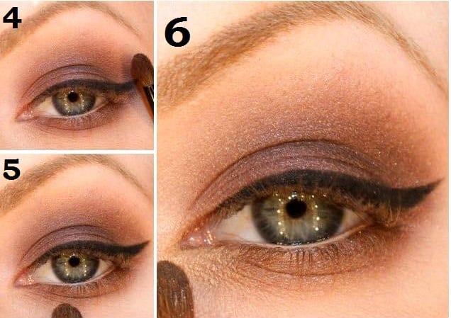 Как сделать скромный макияж 951