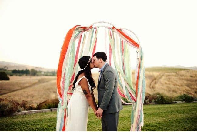Свадьба на природе