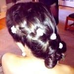 Заколки-цветы для волос