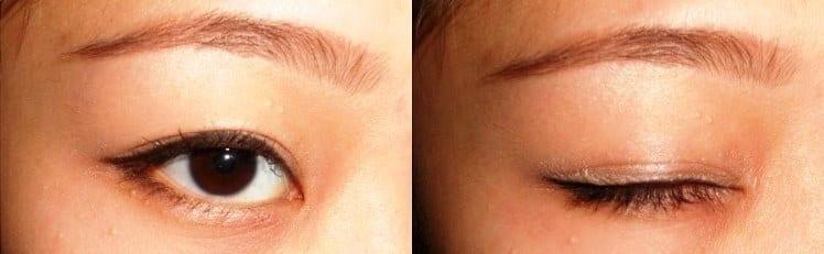 Коррекция формы глаз с помощью макияжа
