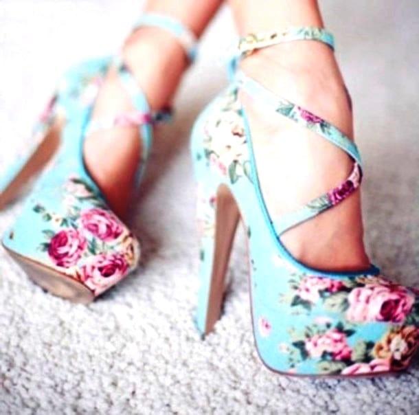 Летние туфли Летние туфли на каблуке
