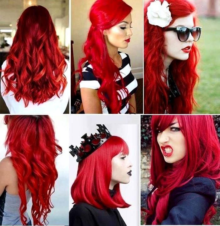 Как сделать красную краску для волос 146