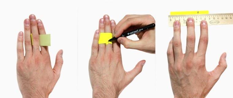 Как определить размер кольца мужчины