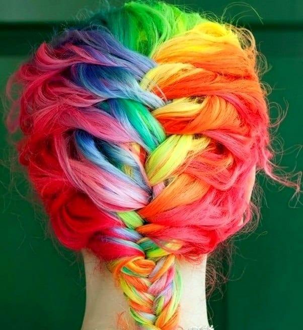 Яркие краски для волос