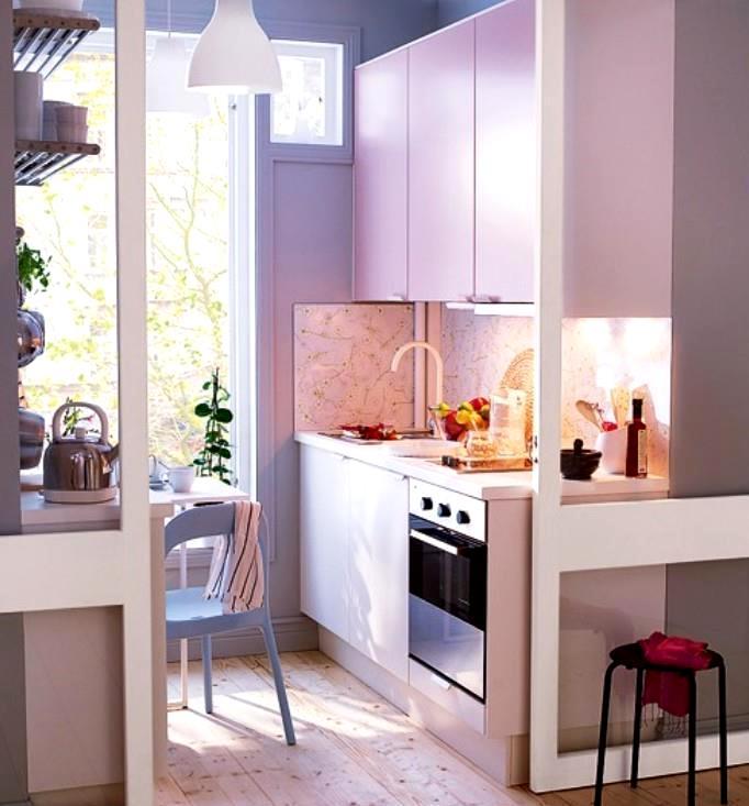 Уютные маленькие кухни фото
