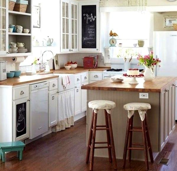 Очень удобно, когда на кухне все рядом