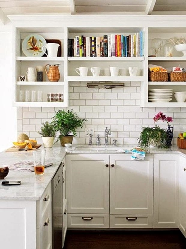 уютные кухни маленькие фото