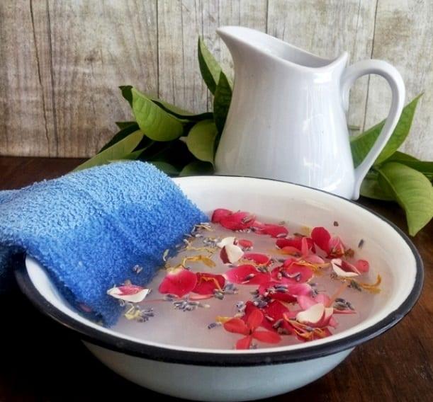 Ванночка с травами для лица