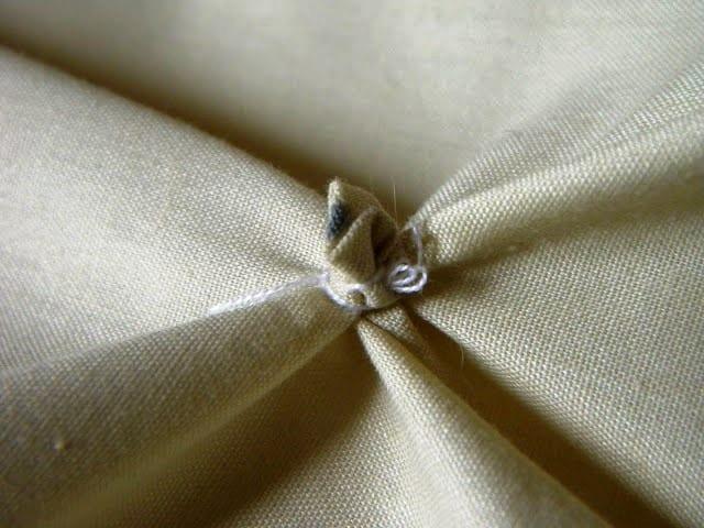 Декор ткани без шитья