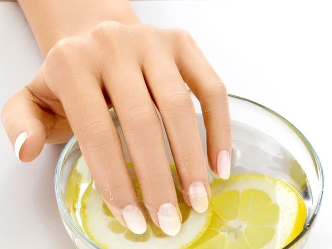 Лимон для укрепления ногтей