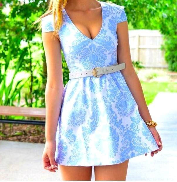 платья фото короткие летние